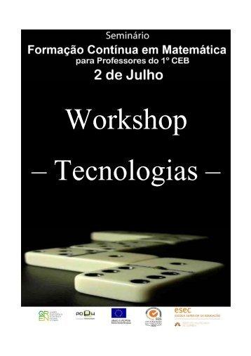 Brochura Tecnologias - ESEC
