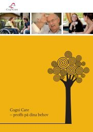 Cogni Care – proffs på dina behov