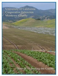 2005-06 Monterey County Year End Report