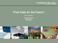 """Fuel Cells for the Future"""