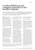 Carrifran Wildwood and ecological restoration in the Southern ... - Page 2