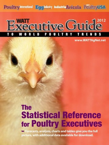 Statistical Reference for Poultry Executives