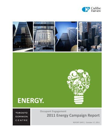 ENERGY. - Toronto-Dominion Centre