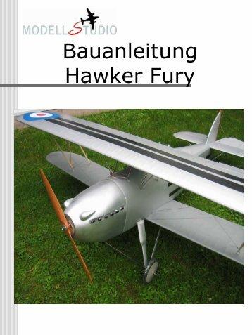 Bauanleitung Hawker Fury