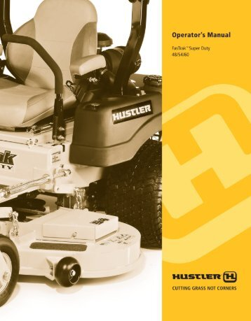 Download the Fastrack Super Duty Owner's Manual 48/54/60