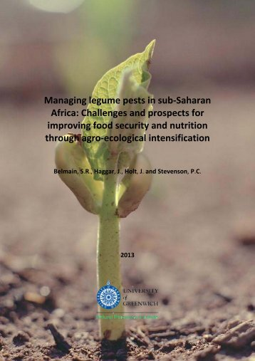 Managing legume pests in sub-Saharan Africa - Natural Resources ...