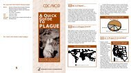 A Quick Guide to Plague - Centers for Disease Control and Prevention