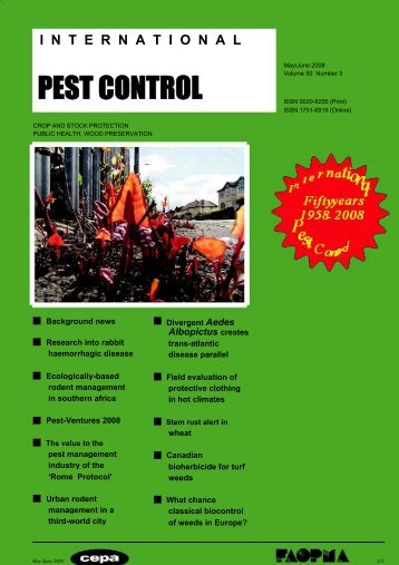 PEST CONTROL - Natural Resources Institute