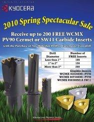 2010 Spring Spectacular Sale