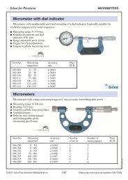 mikrometry speciální - Microtes
