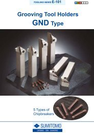 Grooving Tool Holders GND Type - Centrala Techniczna ELTECH ...