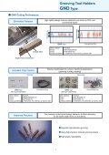 Grooving Tool Holders GND Type - Centrala Techniczna ELTECH ... - Page 3
