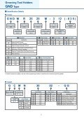 Grooving Tool Holders GND Type - Centrala Techniczna ELTECH ... - Page 6