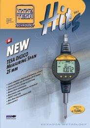 TESA DIGICO Measuring Span 25 mm