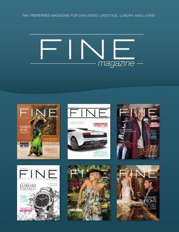 FASHIONS OF ART - FINE Magazine