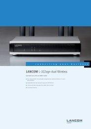 Datenblatt LANCOM L-322agn