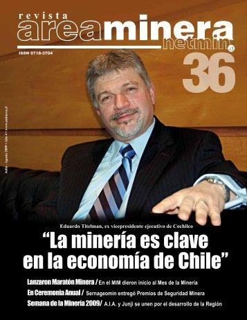 """""""La minería es clave en la economía de Chile"""" - Areaminera"""