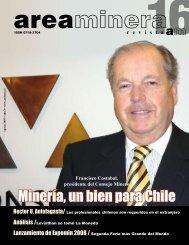 Minería, un bien para Chile - Areaminera