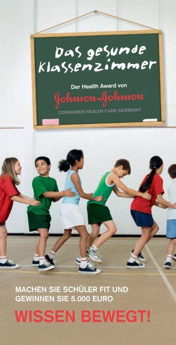 Wissen beWegt! - Das gesunde Klassenzimmer - Johnson ...