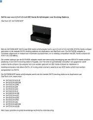 SATA naar voor 2,5 of 3,5 inch IDE Harde Schijf Adapter voor ...
