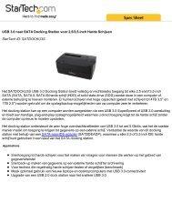 USB 3.0 naar SATA Docking Station voor 2,5/3,5-inch Harde ...