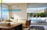 LA CLIMATISATION : - Reussir son habitat