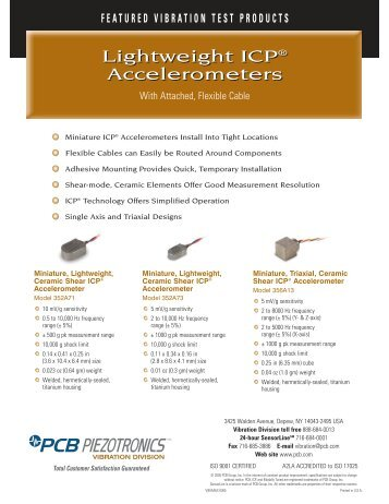 featured vibration test products