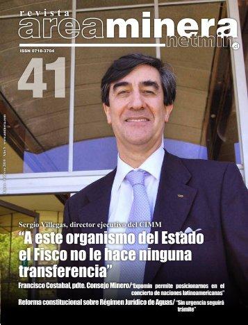 """""""A este organismo del Estado el Fisco no le hace ... - Areaminera"""