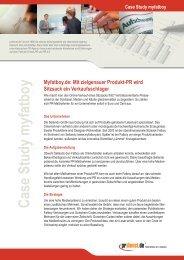 Case Study myfatboy - Prdienst.de