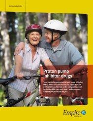 Proton pump inhibitor drugs - Empire Blue Cross Blue Shield