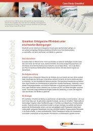 Case Study Gimahhot - Prdienst.de