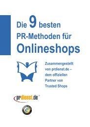 Die 9 besten PR-Methoden für Onlineshops - Prdienst.de