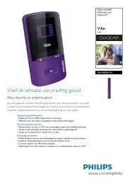 SA4VBE04VN/12 Philips MP4-speler met FullSound™