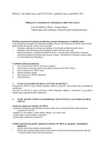 Calcichew D3 - Dr. Max Lékárna