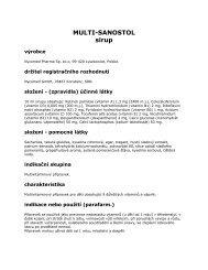 MULTI-SANOSTOL sirup - Dr. Max Lékárna