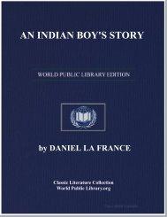 An Indian Boy's Story - Richmond Community Schools