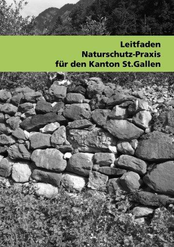 Leitfaden Naturschutz-Praxis - BirdLife St.Gallen