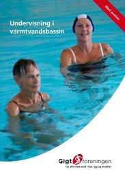 Undervisning i varmtvandsbassin - med øvelser - Gigtforeningen