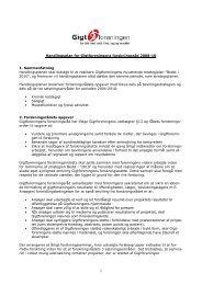 Læs handlingsplanen for forskningsrådet (pdf) - Gigtforeningen