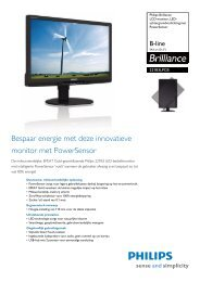 221B3LPCB/02 Philips LCD-monitor, LED-achtergrondverlichting ...