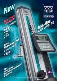 Download TESA-HITE MAGNA 400/700 - TESA Technology