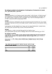 Læs de vigtigste resultater af undersøgelsen (pdf) - Gigtforeningen