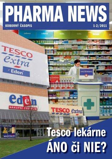 ODBORNÝ ČASOPIS 1-2/2011 - pharma news