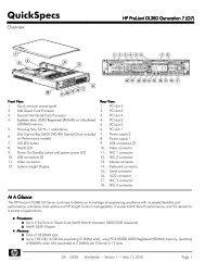 HP ProLiant DL380 Generation 7 (G7)