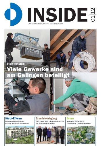 Viele Gewerke sind am Gelingen beteiligt - Dornieden Generalbau ...