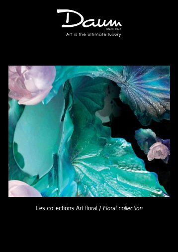 Les collections Art floral / Floral collection - Beau Trading