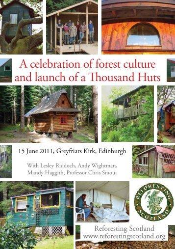Flyer - A Thousand Huts