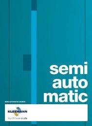 SEMIAUTOMATIC DOORS