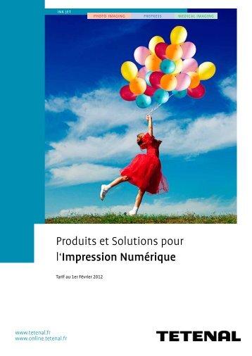 Produits et Solutions pour l'Impression Numérique