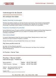 Prechter + Renner Katalog als PDF - Prechter + Renner GmbH